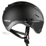 casco roadster zwart e bike helm met vizier 04.5026.U