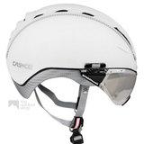 casco roadster wit e bike helm met vizier 04.5014.U