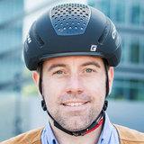 cratoni c-mute zwart - speed pedelec helm met verlichting