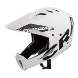 cratoni shakedown white matt mtb helm full face - mountainbike helm