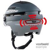 cratoni commuter achterkant - cratoni pedelec helm