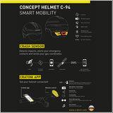 Fietshelm Cratoni Smartride met vizier - Fietshelm Speed Pedelec kopen online - zwart 3