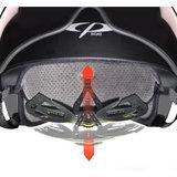 CP Chimayo+ zwart - speed pedelec helm - e bike helm - verstelling