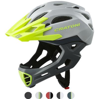 cratoni c-maniac - full face helm mtb - world bestseller - keuze uit 5 varianten!