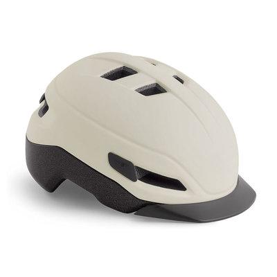 MET Grancorso Sand (Creme) - Speed Pedelec helm - Kan met vizier en verlichting!