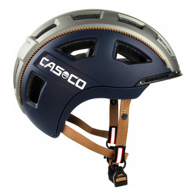 Casco E.MOTION 2 navy casual matt e-bike helm - trendy helm met geweldig comfort