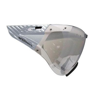 Casco Speedmask Carbonic helder Vizier - Voor Casco Roadster en Casco Speedairo Fietshelmen