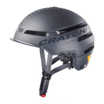Cratoni Smartride zwart mat - Pedelec helm - Fietshelm met Speakers - Licht en App
