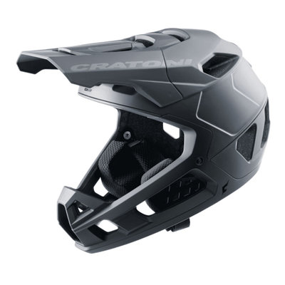 cratoni Interceptor 2.0 zwart mat - mtb helm full face - Super Licht & Veilig - keuze uit 3 varianten!