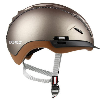 Casco Roadster Olive e bike helm bruin - Met zon beschermer