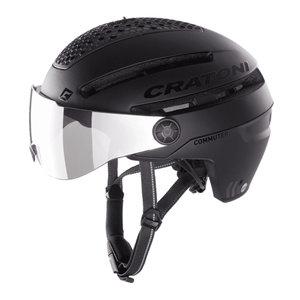 cratoni commuter zwart mat - cratoni speed pedelec helm