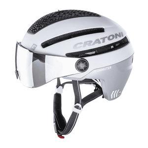 cratoni commuter wit mat - cratoni speed pedelec helm